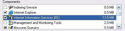Skedari qe vendos ne përdorim sistemin ASP quhet InetPub qe do